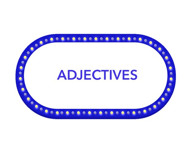 Adjectives by Melissa Winn
