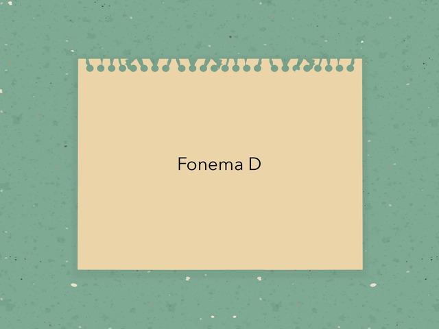 Fonema d by Ahmed Almaliki