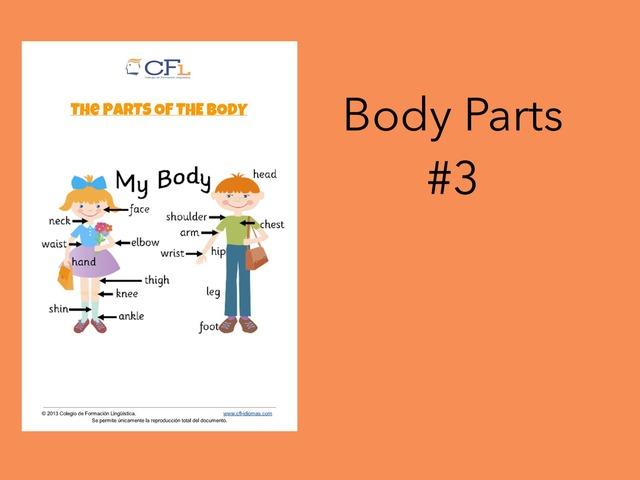 Body Parts #3 by Carol Smith