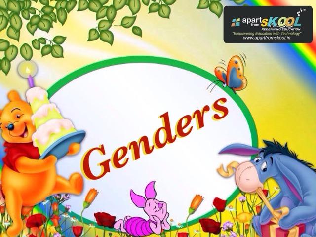 Genders by TinyTap creator