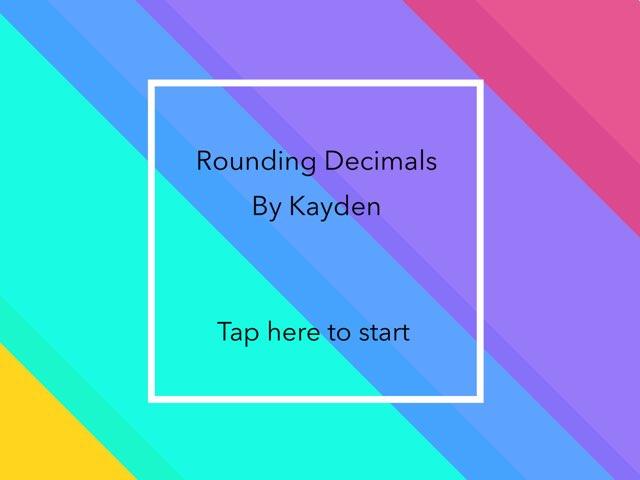 Rounding Decimals by John Ferrero