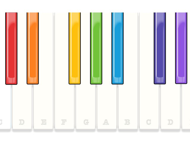Color Piano by Blair Chiquet