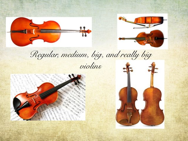 Violins by Frances Chapin
