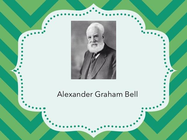 Alexander Graham Bell Vocabulary Practice by Jennifer Klostermann