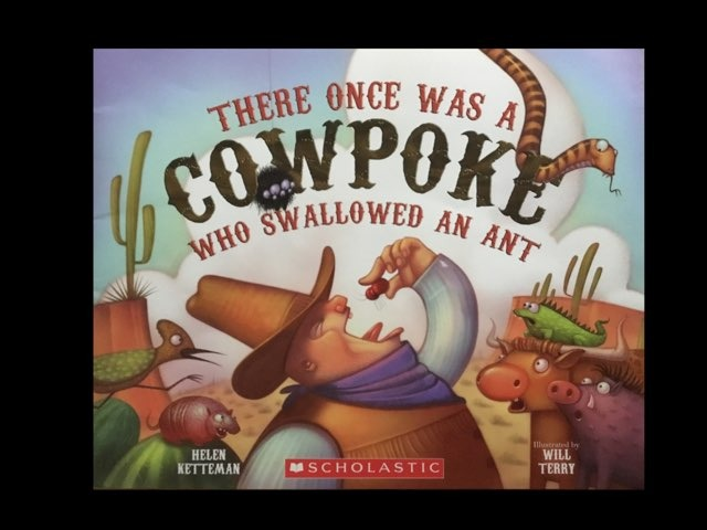 There Once Was A Cowpoke Who Swallowed An Ant (CVI) by Diana Fitzpatrick