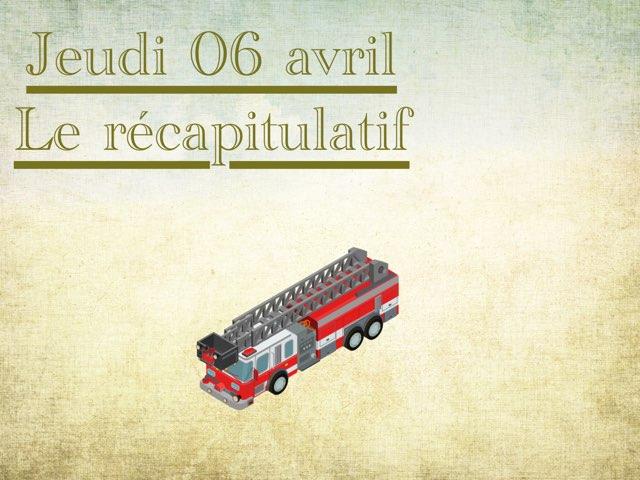 L - Jeu06 - Récapitulatif  by Caroline Gozdek