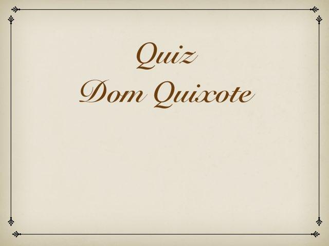 Jogo Dom Quixote by Rede Caminho do Saber