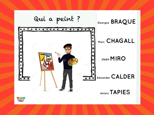 5 Artistes  by Marie S