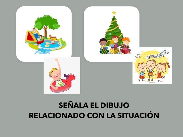 Señala el dibujo relacionado con la situación  by Francisca Sánchez Martínez