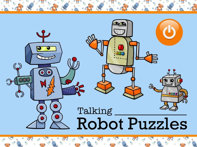 Talking Robot Puzzles by Cici Lampe