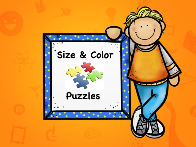 Size & Color Puzzles by Ellen Weber