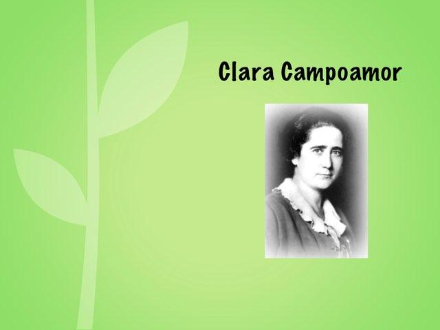 Clara Campoamor  by Beatriz Gonzalez Blanco