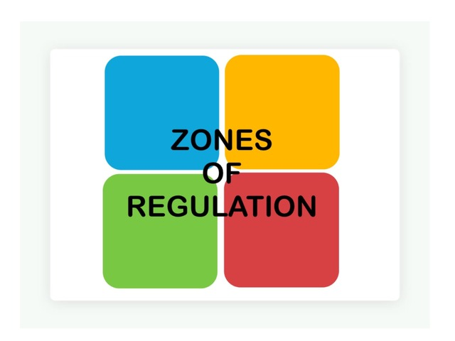 Zones of Regulation: Strategies by Anna Ray