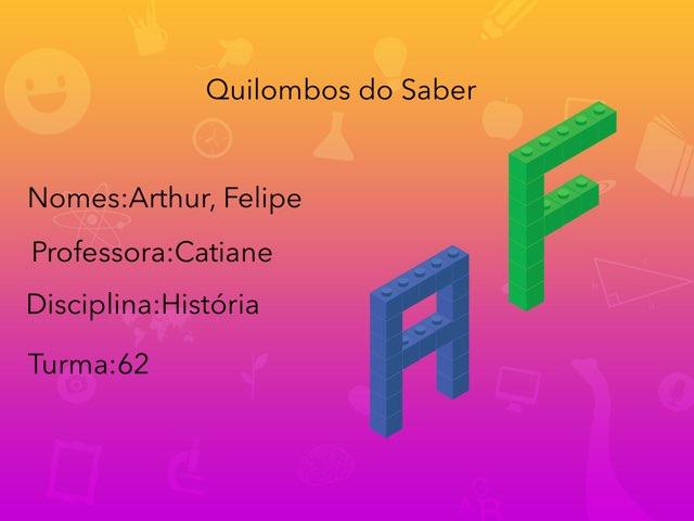 Artur E Felipe.        A Escravidão  by Rede Caminho do Saber