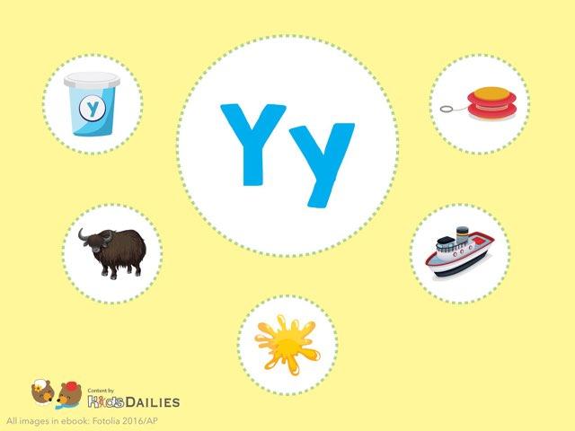 Yy  by Kids Dailies