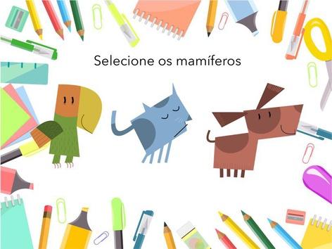 Mamíferos  by MARINA MATERA SANCHES