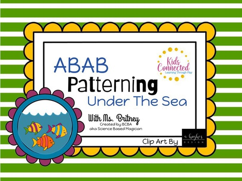 Patterns ABAB: Under The Sea by Kids  Connected