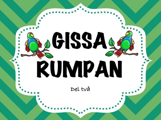 Gissa Rumpan 2 by Caroline Hermansson