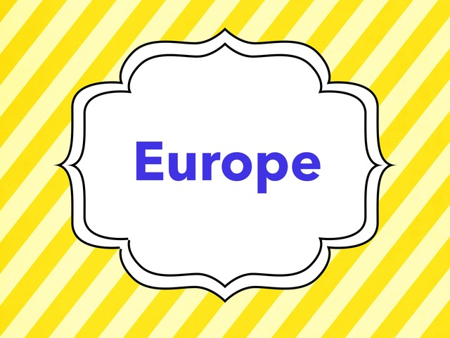 Europe by TinyTap creator
