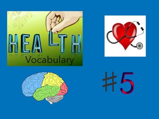Vocabulary: Health #5 by Carol Smith