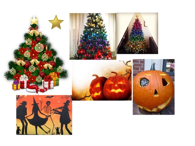 Christmas Halloween by Mr Edmondson