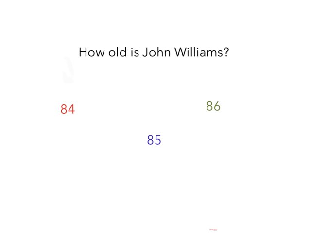 John Williams Quiz by Dan Morrow