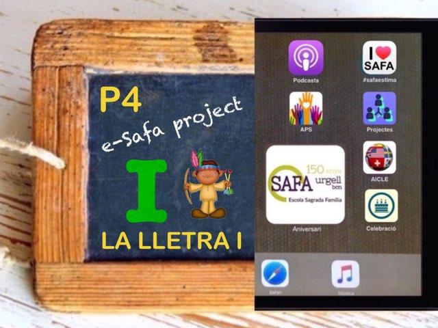 SAFA P4- La Lletra I by Meritxell Casanova