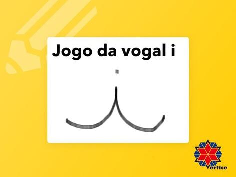 Jogo da vogal i by Fabiana Silvério De Albuquerqu