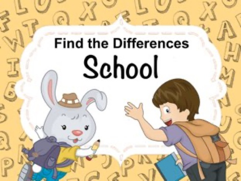 Find The Difference - School by Ellen Weber