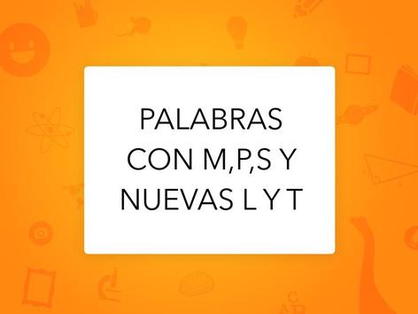 Palabras L Y T by Vale Vegas Huerta