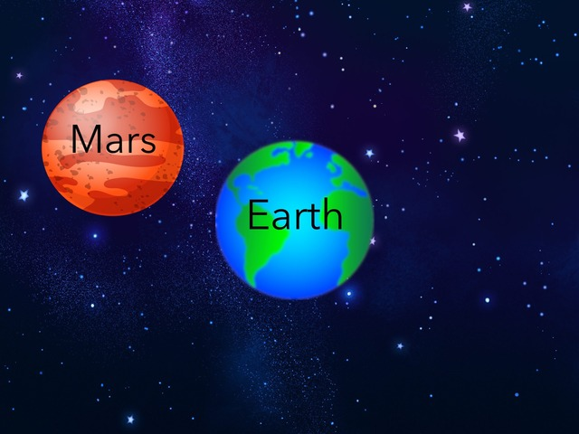 Earth And Mars by Mara Carpenter
