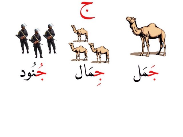 حرف الجيم by Noura Alshalahi