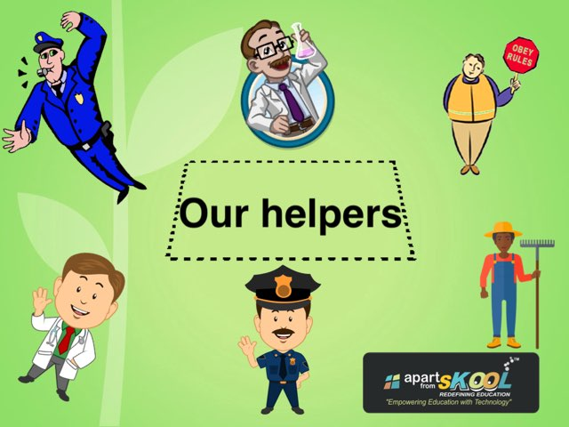 Our Helpers by TinyTap creator