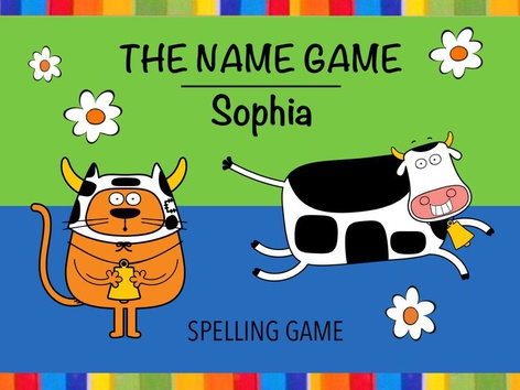 Name Game - Sophia by Cici Lampe