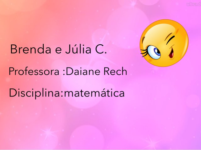 Brenda e Jú Turma 54 by Rede Caminho do Saber