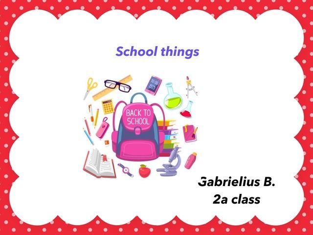 Nba Gabris School Things by Jelena Šilova