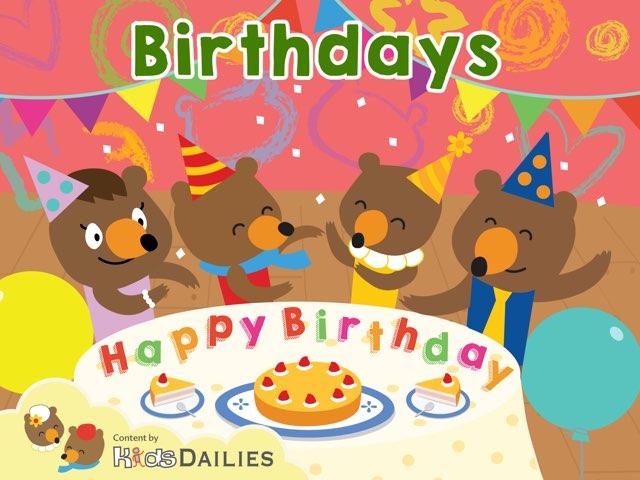 Birthdays by Kids Dailies