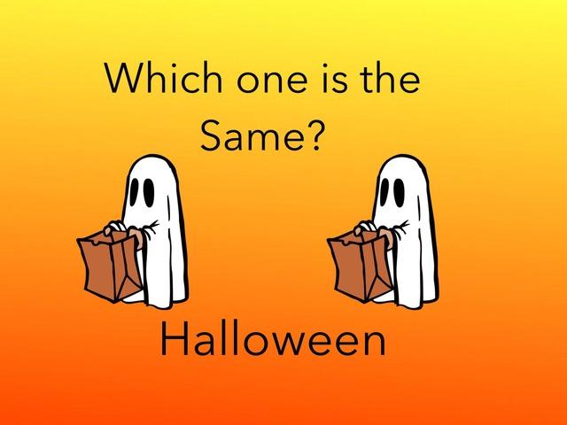 Same: Halloween  by Carol Smith