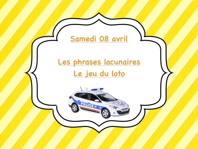 M - Sam08 - Phrases Et Jeu Loto  by Caroline Gozdek