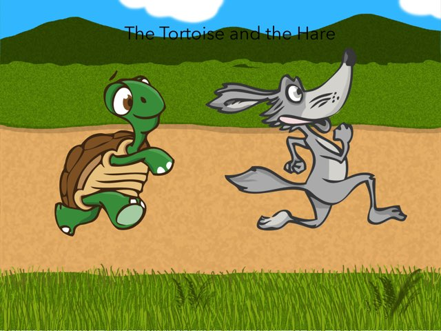 The Tortoise and the Hare by Kate Li