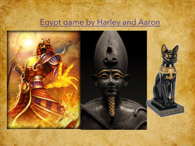 Egypt By Aaron & Harley by St Cecilias