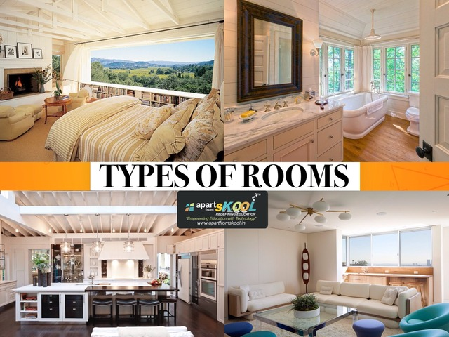 Types Of Room by TinyTap creator