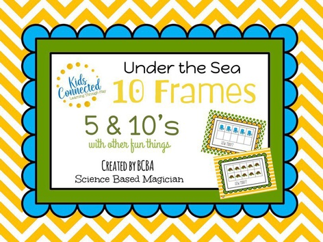 Counting with 10 Frame 5&10: Under the Sea by Kids  Connected