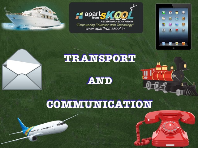 Transport And Communication  by TinyTap creator