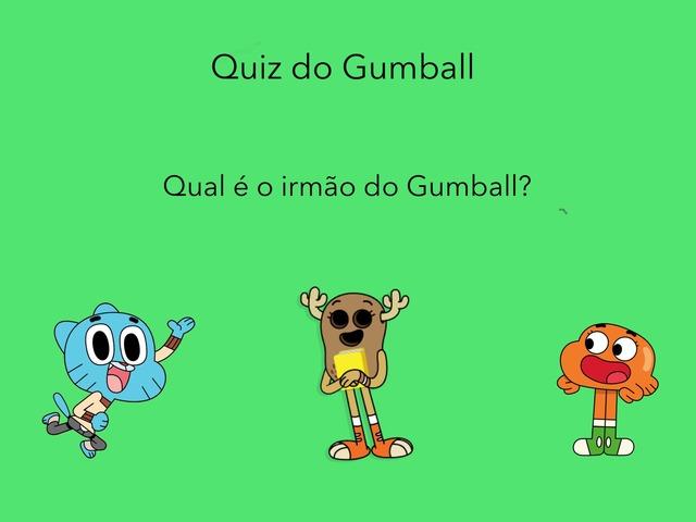 Quiz Do Gumball by Lucas Mendes de Almeida Antonini