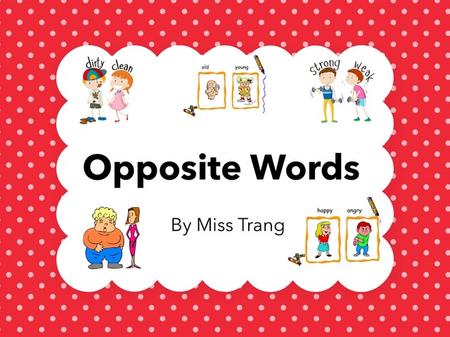 Oppposite Words by Trang Quỳnh