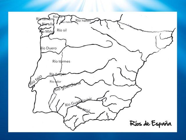 Los Ríos De La Península Ibérica  by Gonzalo Vega Beltran