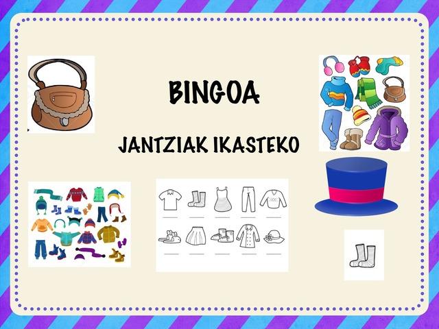 BINGOA Jantziak Ikasteko by Ana José Escalada Palacios