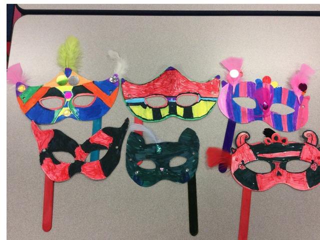 Schmitz Carnaval Masks by Emily Urquizo