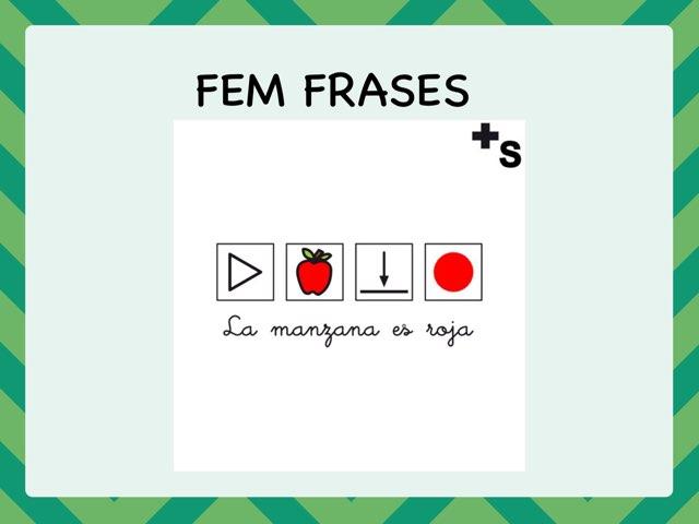 FEM FRASES by Logo Moragas
